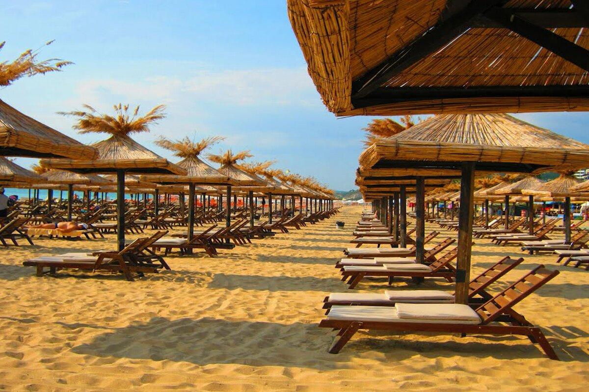 Plaża w Złotych Piaskach
