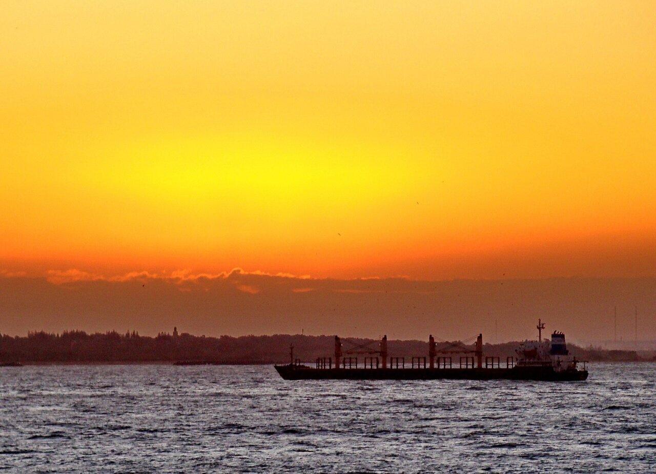 Zachoód słońca na wczasach w Agadir